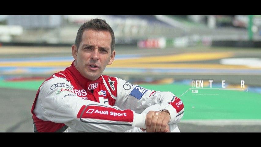 24 Heures du Mans - #OnTrackWith Benoit Tréluyer at the Raccordement curve