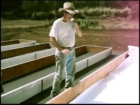 COMPLETE Aquaponics Trough Liner Installation