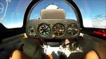 Wave Soaring and Aerobatics in a MDM-1 Fox aerobatic glider