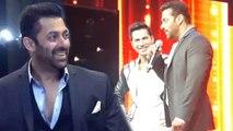 Salman Khan Makes FUN Of Varun Dhawan & Karan Johar @ Awards Show