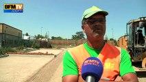 Fortes chaleurs: des conditions de travail difficiles pour les ouvriers du BTP