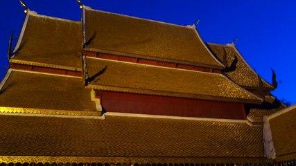 Temple Bouddhiste pres de Chiang Mai