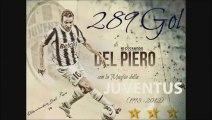 I 289 Gol di Alessandro Del Piero nella Juventus