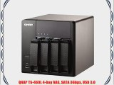 QNAP TS-469L 4-Bay NAS SATA 3Gbps USB 3.0