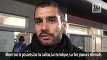 Interview Pep Guardiola : le style de jeu de Barcelone (les coulisses du sport 8)
