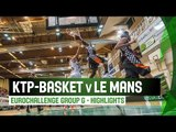 KTP-Basket (FIN) v Le Mans (FRA) – Highlights – RS – 2014-15 EuroChallenge