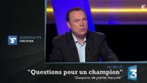 Zapping TV : Julien Lepers tacle un candidat sur France 3