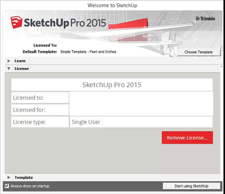 SketchUp PRO License Key + Crack Free Download
