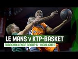Le Mans (FRA) v KTP-Basket (FIN) – Highlights - Regular Season – 2014-15 EuroChallenge