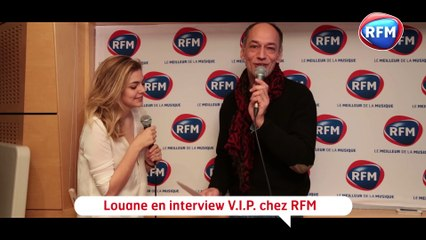 Louane - Interview RFM avec Guillaume Aubert