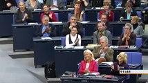 Gregor Gysi (die Linke) erklärt Volker Kauder (CDU) die Bibel (Vermögenssteuer)