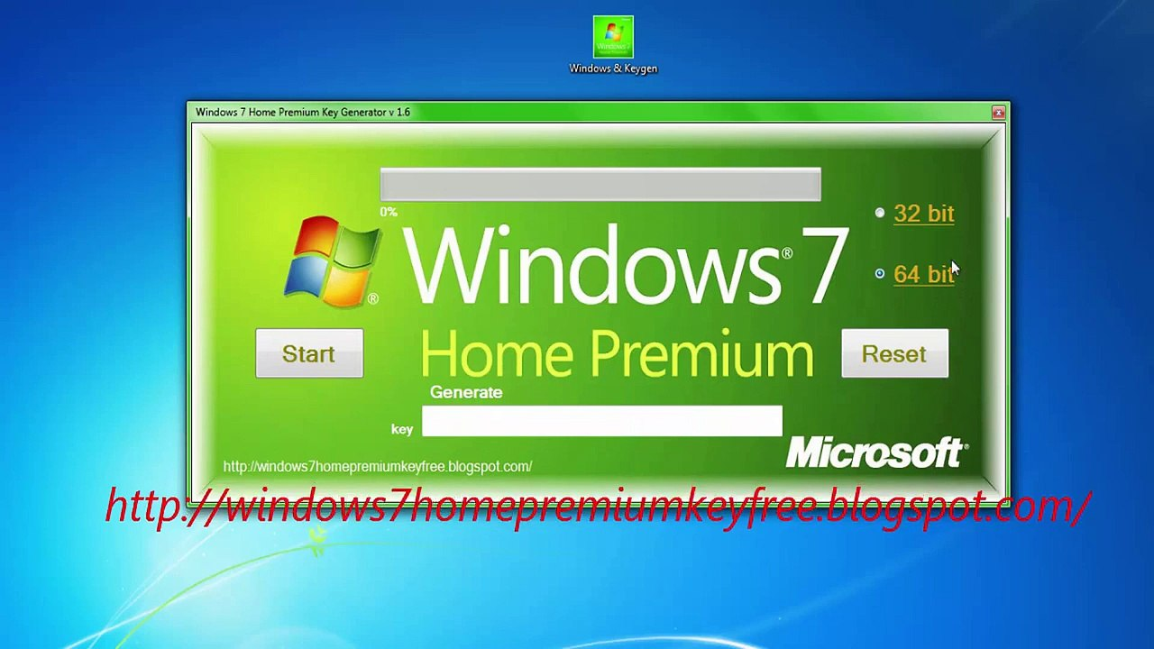 Windows 7 Key Generator >> Windows 7 Home Premium Product Key Free
