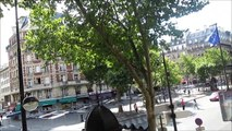 32 PARIS: Boulevard Saint Germain en el Barrio Latino cerca de Notre Dame