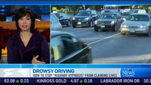 """The dangers of drowsy driving and """"highway hypnosis"""" (Anglais seulement)"""