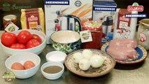Reteta munteneasca:  Rosii umplute cu carne de pasare Descopera Traditiile Culinare Romanesti
