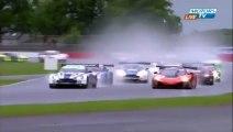 Silverstone2015 Start Vannelet Spins Leader Howard