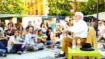 Acampada Granada Charla con el Prof. José Luis García Rua