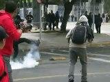 Brutal represión policial en marcha estudiantil 1472011 Chile 6