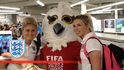 Travel with England Women to the World Cup | Inside Access