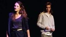"Camille Cottin  ""Connasse"" & Franck Buirod  ""Connard "" -  Il l'aime"