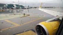 Vueling 1292 amazing take off from Barcelona