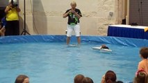 Twiggy the Water Skiing Squirrel Crashes While Performing in Daytona Beach Florida