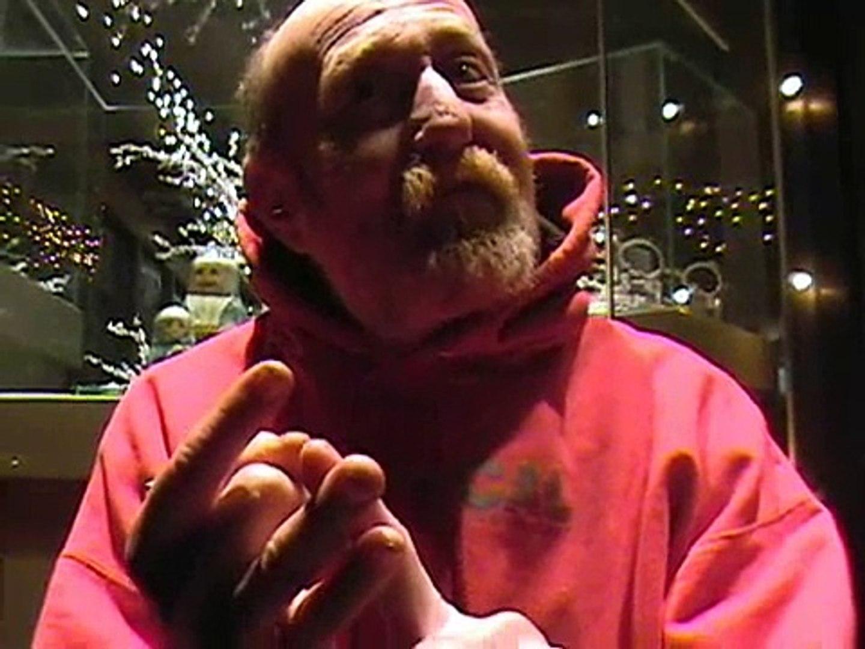 Homeless interviews