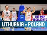 Lithuania v Poland - Highlights – 2nd Round - 2014 U18 European Championship