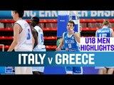 Italy v Greece - Highlights - Quarter-Finals - 2014 U18 European Championship