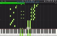 The Legend Of Zelda Ocarina Of Time Horse Race Theme Piano Tutorial Synthesia