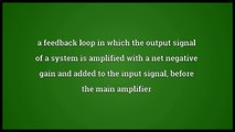 Negative feedback Meaning