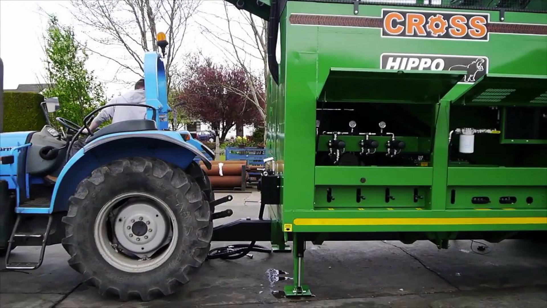 Hippo - 2 Beet Washer... Cross Agricultural Engineering