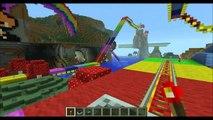 Minecraft Rainbow Road Mario Kart 64
