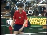 Tibor Klampar - Jan Ove Waldner ETTC Budapest 1982