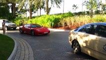 Ferrari F360 Modena Arriving into Atlantis - HD!