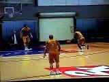 Kobe Bryant dunks over Gasol in practice (funny)