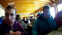 Loughborough $no helmet cam - Winter ski trip 2009