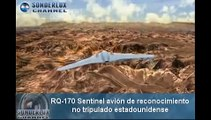 RQ-170 Sentinel El avión drone capturado por Irán