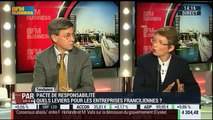 Interview de Sabine Enjalbert, directrice générale de Paris Région Entreprises, par BFM Business TV