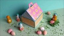 Caja de Regalo para Pascua, Caja Casita Scrapbook para Huevos de Pascua, Manualidades para Pascua