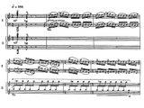 Poulenc - Concerto for 2 pianos, I. Allegro ma non troppo (with sheet music)