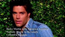 ricky martin feat christina aquilera nobody wants to be lonely HD