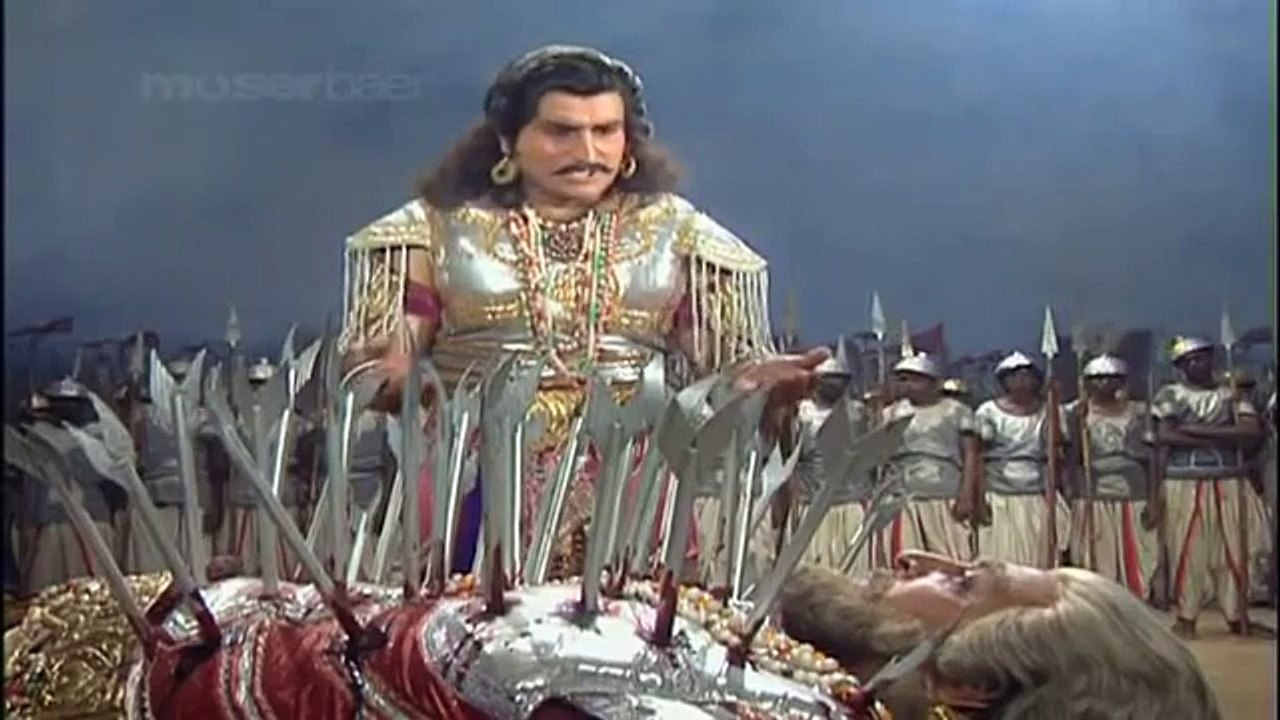 0755 Krishna Story Mahabharat Death Of Bhishma 2 Video Dailymotion