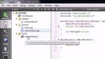 02 C++ GUI Qt Tutorial - Creating a Simple Project - video