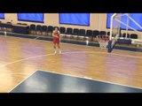 Queens Of Hoops - Drill - Anastasiya Verameyenka three point shot