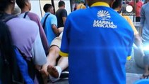 Indonesien: Touristen bei Explosionen auf Fähre verletzt