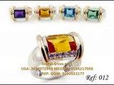 Joyeria brilhia en oro plata diamantes joyeria circonias mayoreo y menudeo, Gold silver jewelry diamonds zirconia rings wholesale and retail