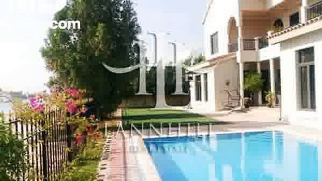 Hot Deal  High Number Mediterranean Gallery View Signature Villa for Rent with Stunning Atlantis View  - mlsae.com
