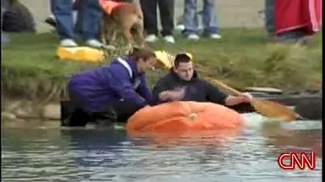 Pumpkin Boats