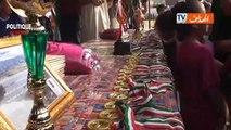 Riyad Mahrez visite Beni Snous à Tlemcen, sa ville d'origine en Algérie